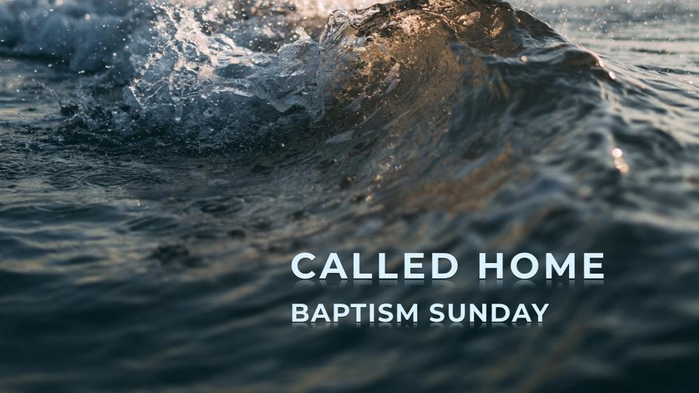 Baptism Sunday 2019 Image
